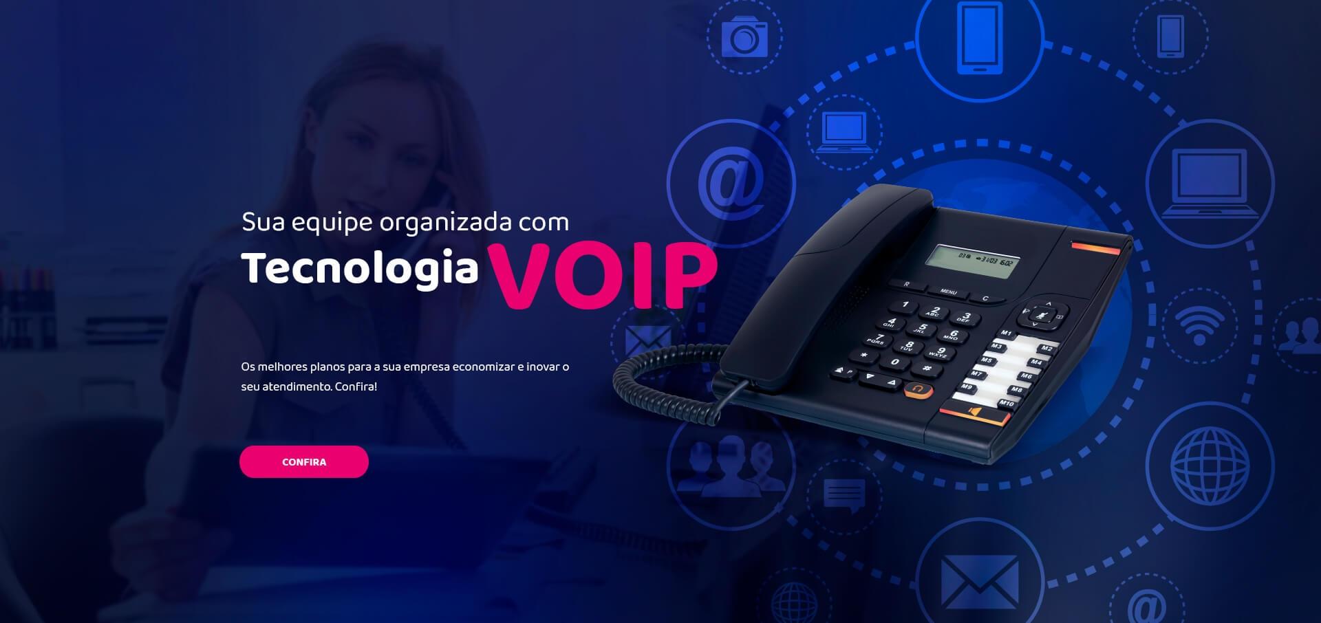 Tecnologia voip para a sua empresa