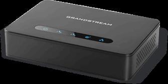 Adaptador de telefone Analógico ATA Grandstream 2 portas Gigabit FXS HT812